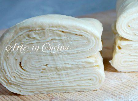 Pasta sfoglia ricetta base fatta in casa