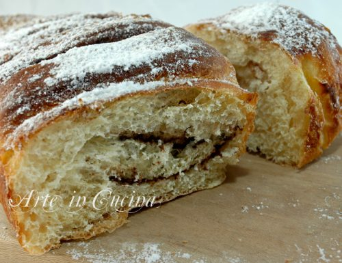 Plumcake per colazione con impasto brioche