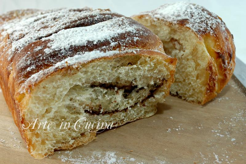 plumcake per colazione con impasto brioche ricetta arte in cucina