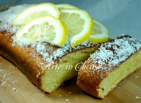 Plumcake al limone e cocco facile e veloce
