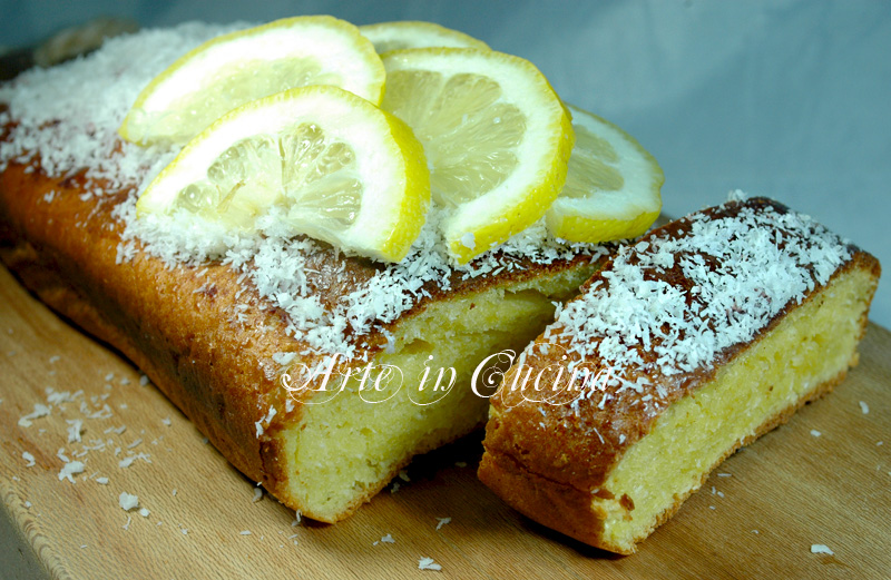 plumcake al limone e cocco dolce facile e veloce arte in cucina