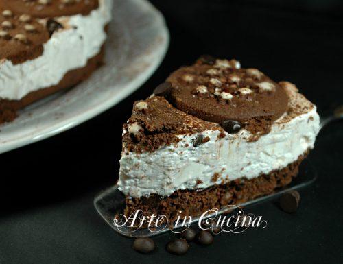 Cheesecake con pan di stelle senza cottura