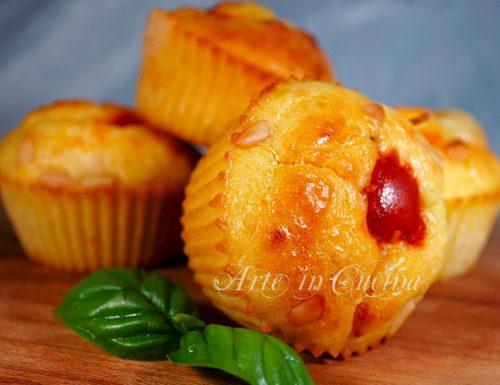 Muffin salati al formaggio ricetta antipasto