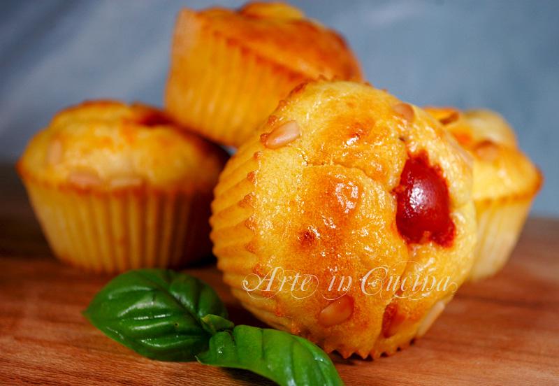 Muffin salati al formaggio ricetta antipasto arte in cucina