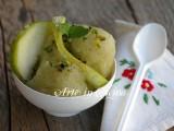 Sorbetto alla mela verde ricetta vickyart arte in cucina