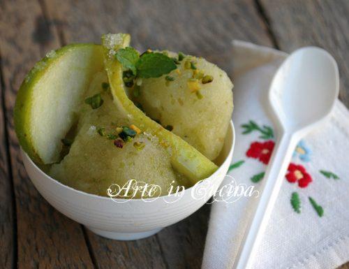 Sorbetto alla mela verde