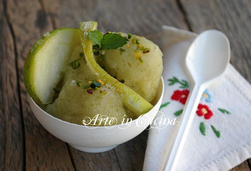 Famoso Sorbetto alla mela verde | Arte in Cucina GN45