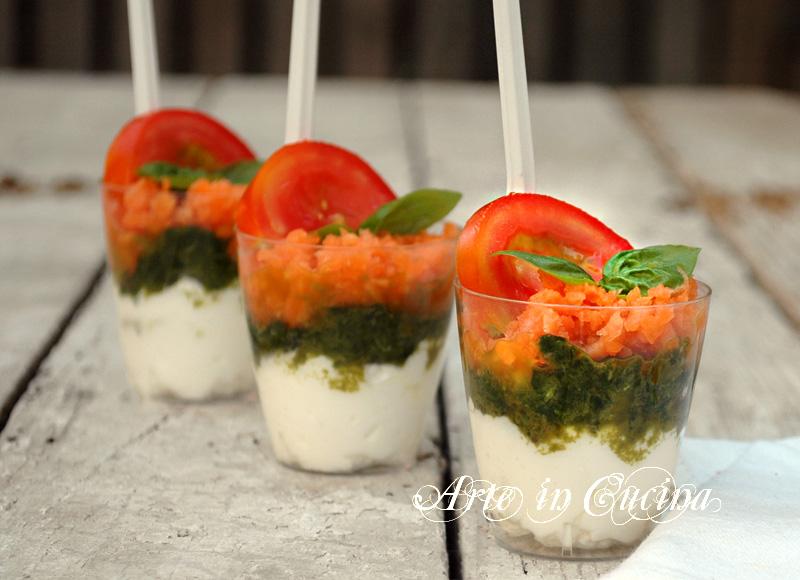 Estremamente Bicchierini finger food salati ricetta facile | Arte in Cucina HW17