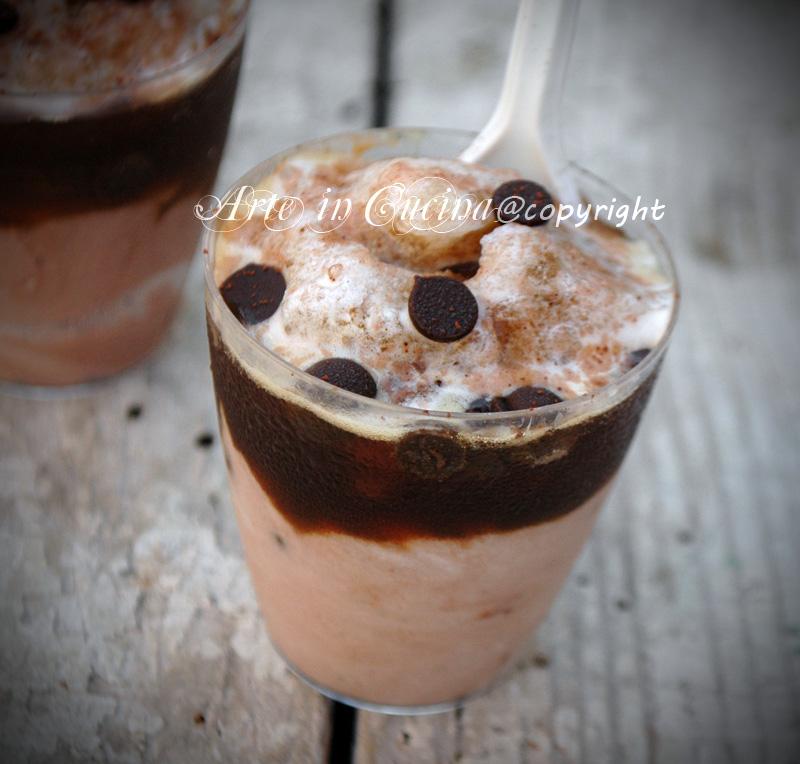 Caffe freddo shakerato cremoso ricetta light