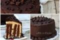 Devil's cake torta girella allo yogurt e cioccolato