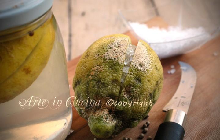 Limoni in salamoia alla marocchina