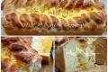 Pan brioche dolce farcito e intrecciato