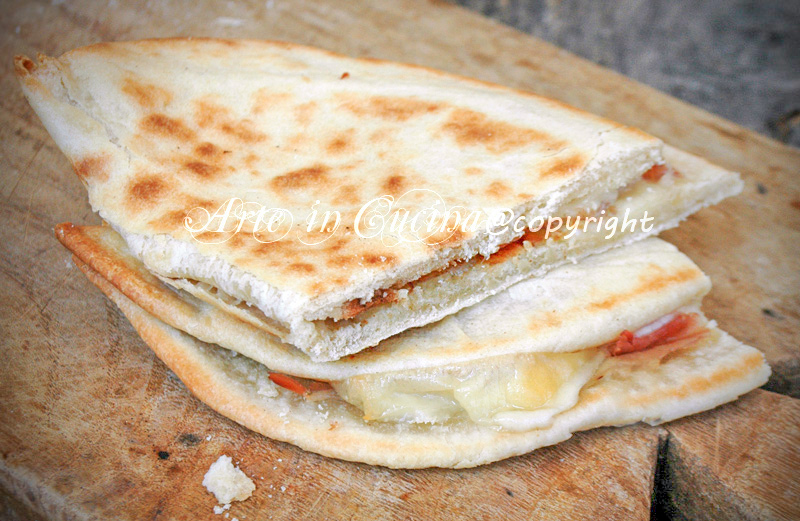 Piadina romagnola ricetta originale vickyart arte in cucina
