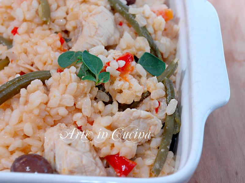 Riso con pollo e verdure ricetta arte in cucina