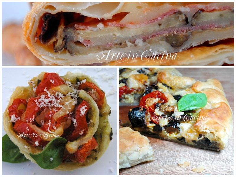 Rustici con pasta sfoglia ricette facili arte in cucina for Ricette facili in cucina