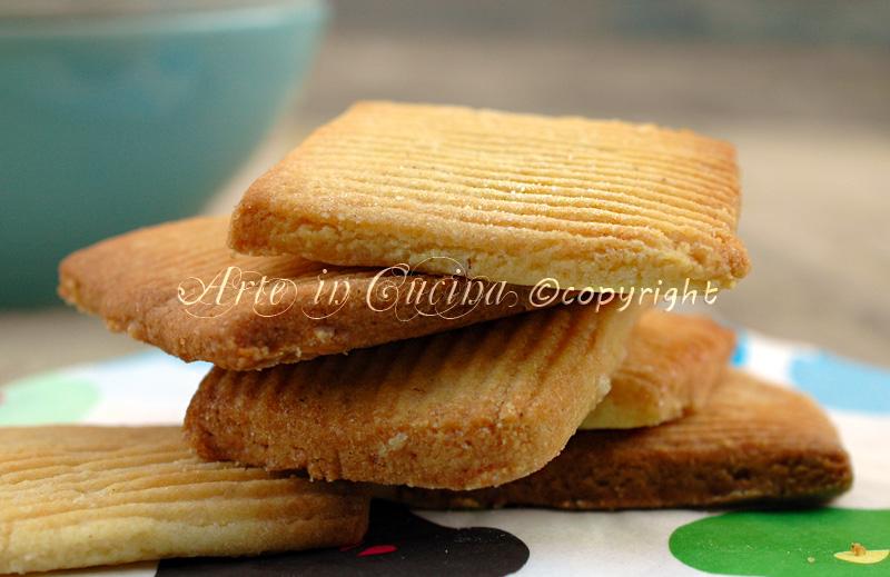 Biscotti di meliga ricetta arte in cucina
