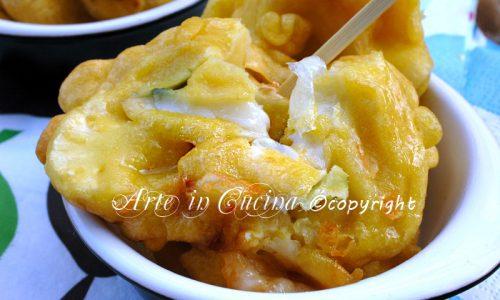 Cavolfiore in pastella con formaggi