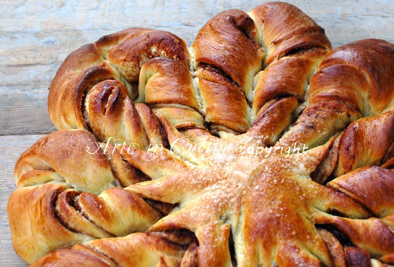 Pan brioche dolce per feste di compleanno ricetta arte in cucina