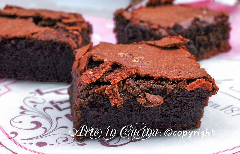 Torta con crema al cioccolato senza farina vickyart arte in cucina