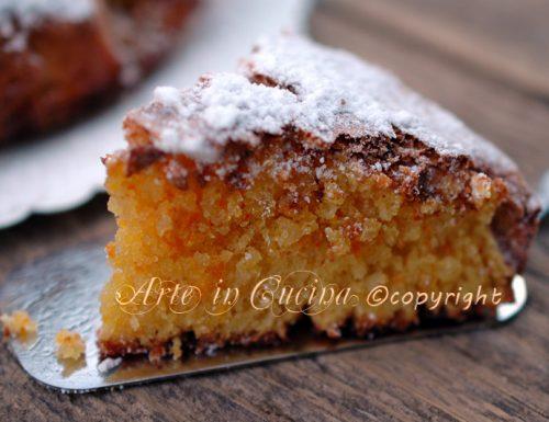 Caprese all'arancia ricetta dolce
