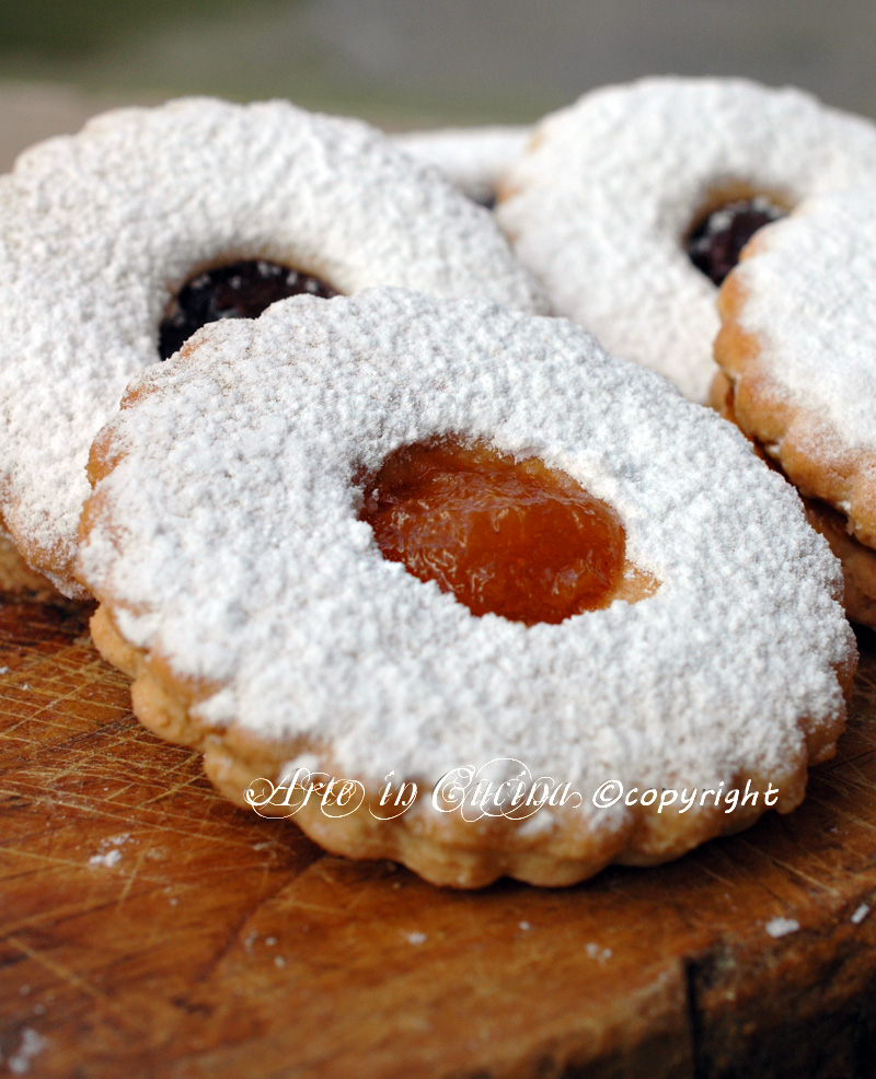 Ciambelline sarde con marmellata ricetta arte in cucina