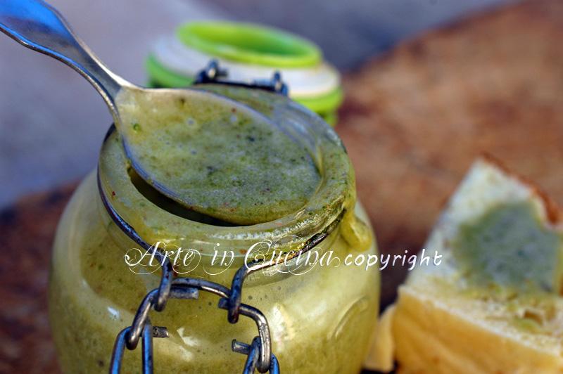 Nutella al pistacchio ricetta arte in cucina