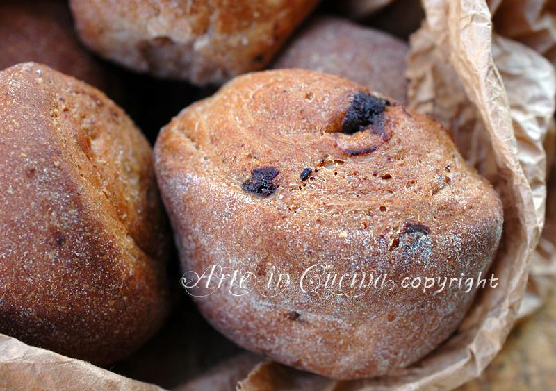 Panini dolci all olio e cioccolato ricetta arte in cucina