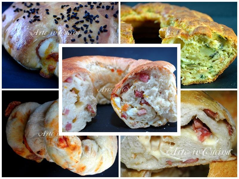 Ciambelle salate ricette Arte in Cucina
