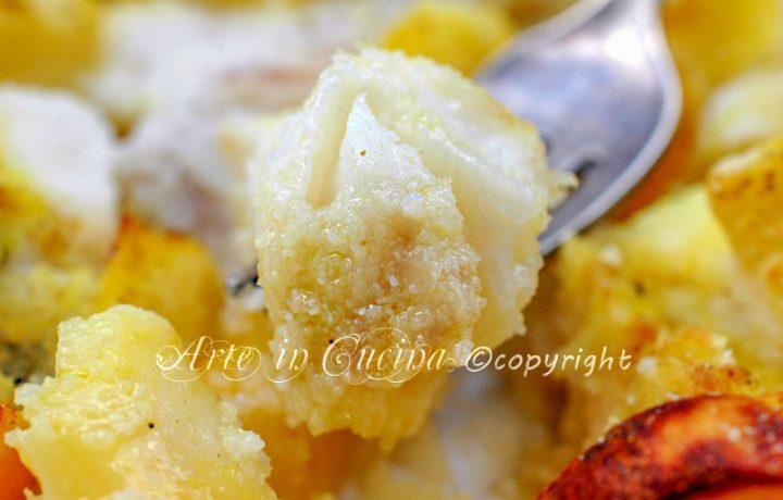 Baccala con patate al forno ricetta facile