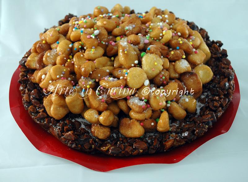 Croccante di mandorle dolce natalizio ricetta vickyart arte in cucina