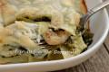 Lasagne con salsiccia e broccoletti