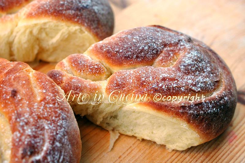 Pan brioche fiore ricetta dolce arte in cucina