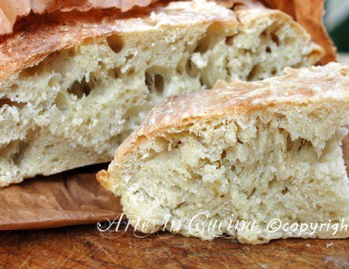 Pane fatto in casa senza robot