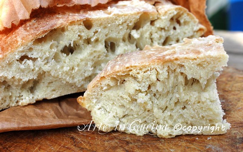 Pane fatto in casa senza robot ricetta arte in cucina