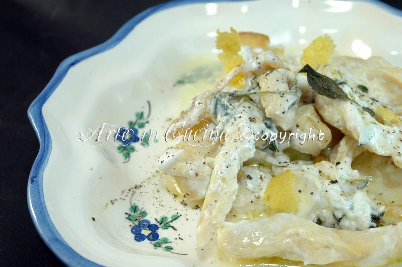 Pollo al limone ricetta arte in cucina