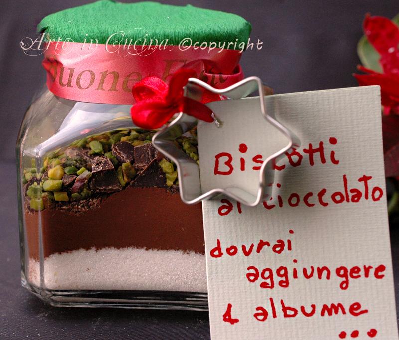 Favorito Biscotti da regalare in barattolo idea veloce   Arte in Cucina JN66