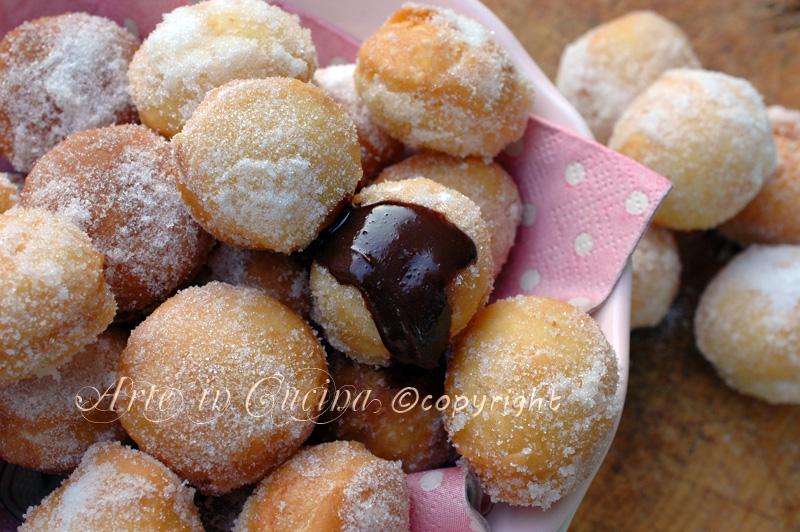 Bombette alla nutella dolci facili e veloci ricetta vickyart arte in cucina