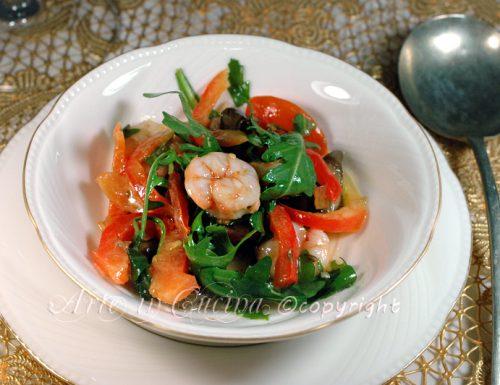 Insalata di gamberi ricetta fredda facile e veloce