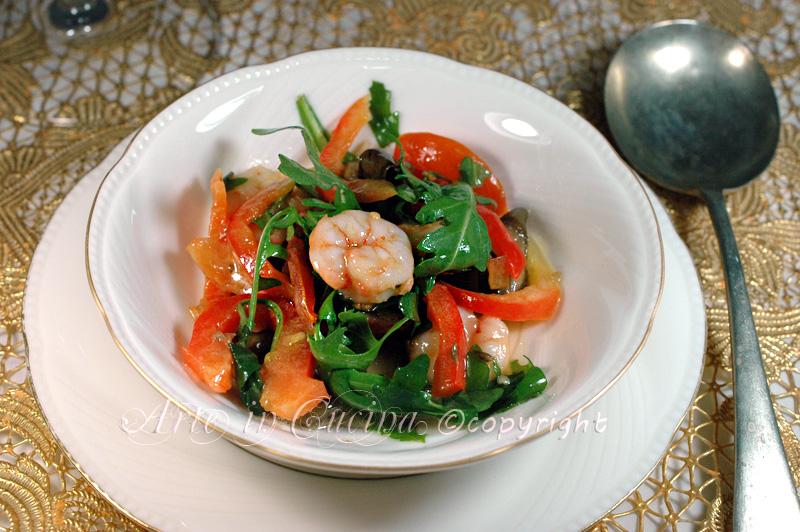 Insalata di gamberi ricetta fredda facile e veloce vicyart arte in cucina