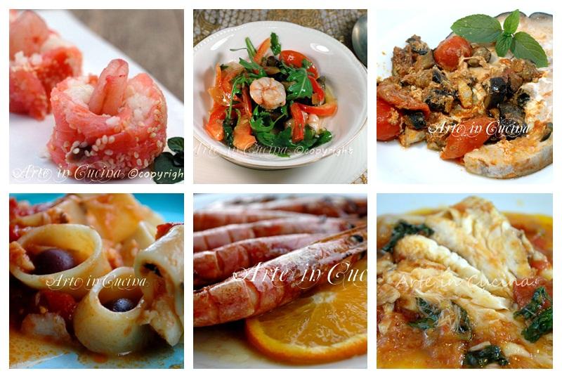Menu cenone di capodanno a base di pesce ricette arte in cucina