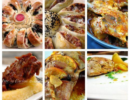 Menu di Natale a base di carne