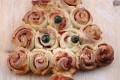 Pan brioche salato antipasto natalizio