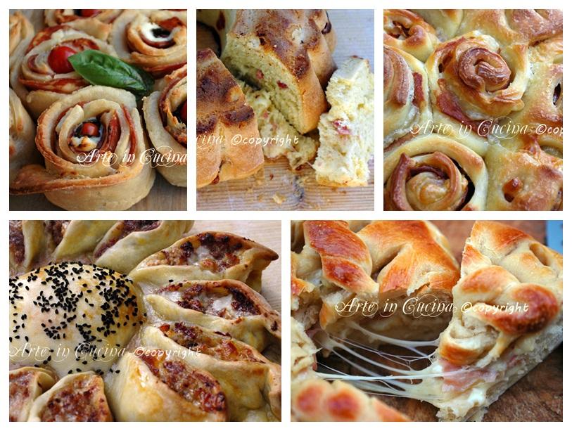 Super Torte salate e pan brioche idee antipasti | Arte in Cucina IH64