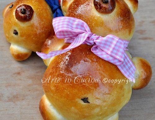 Orsetti di pan brioche per feste di compleanno