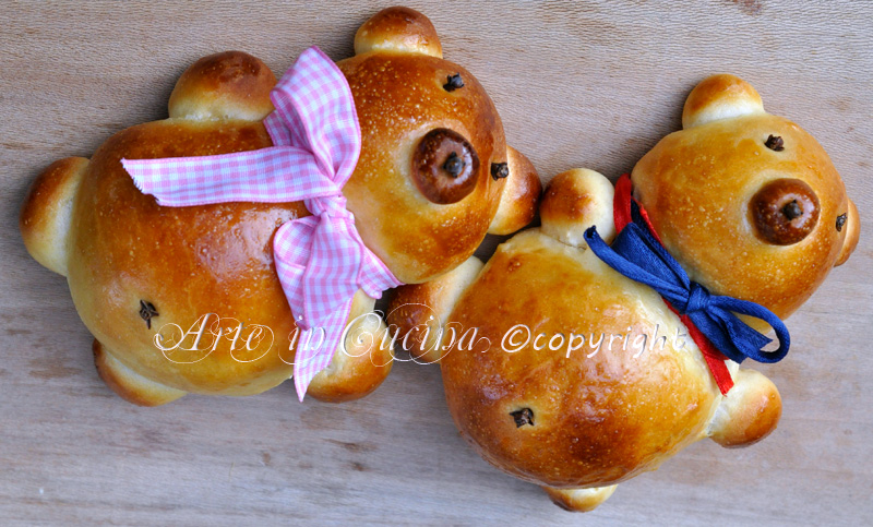 Orsetti di pan brioche per feste di compleanno ricetta facile congelbile vickyart arte in cucina