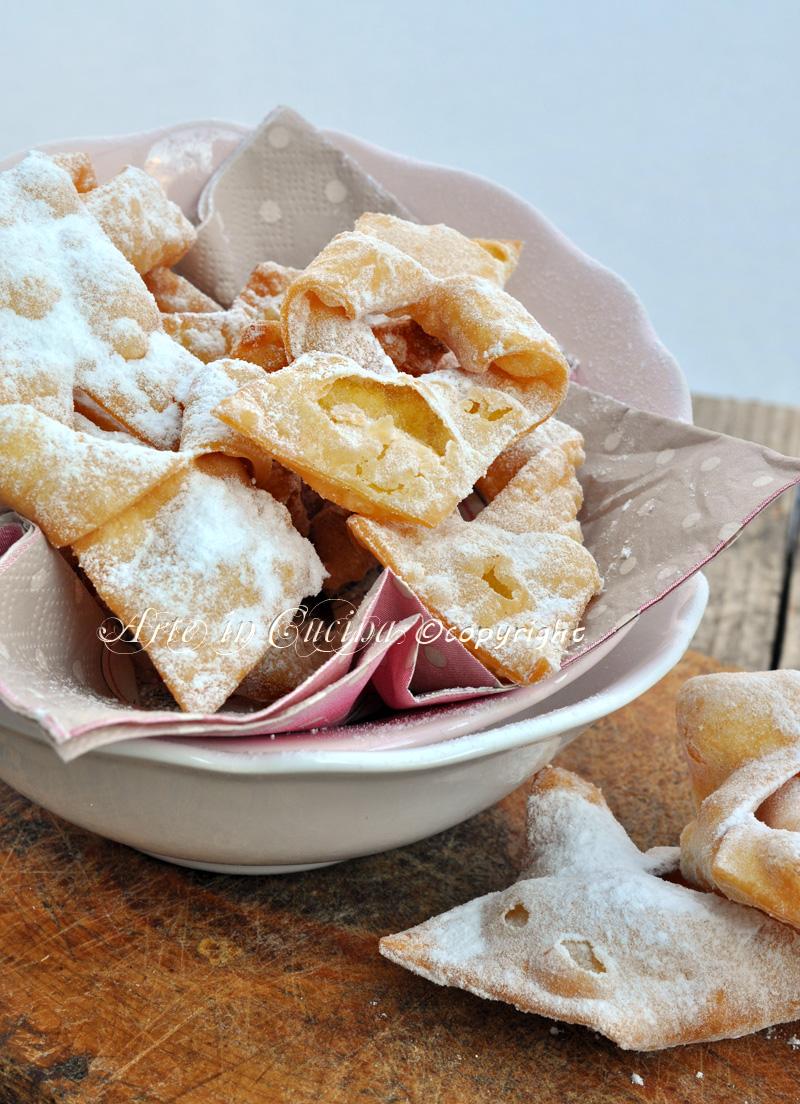 Bugnes dolci di carnevale ricetta facile e veloce - Cucina macrobiotica dolci ...