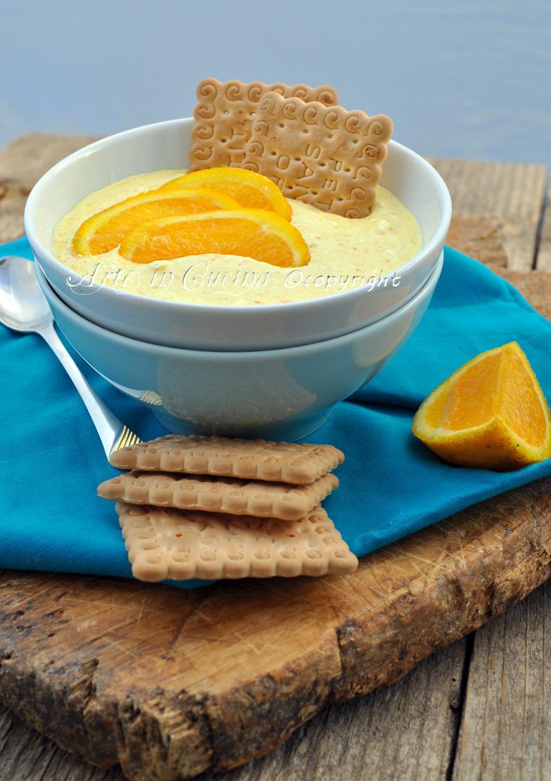 Crema arancia senza burro latte ricetta arte in cucina - Cucina giallo zafferano ...