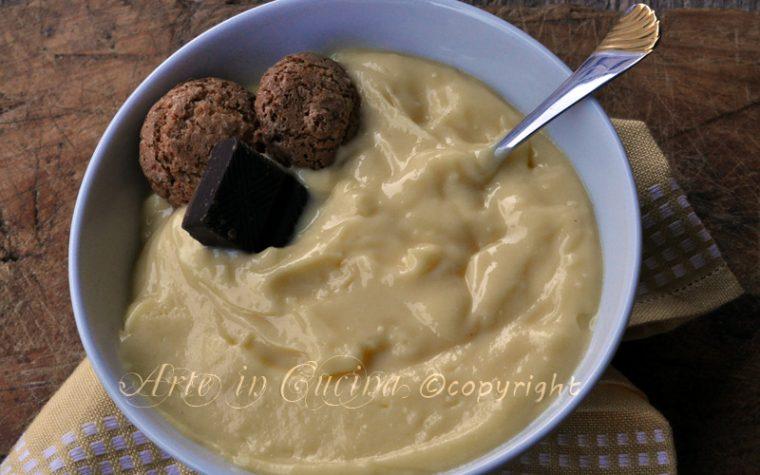Crema pasticcera ricetta base con bimby o senza