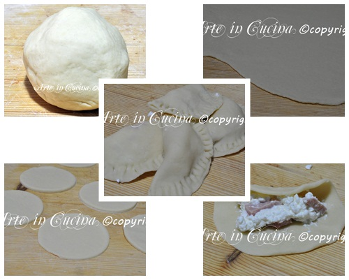 Ricetta light mezzelune soffici al forno vickyart arte in cucina