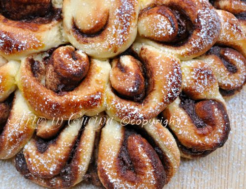 Pan brioche dolce soffice alla nutella